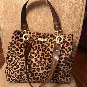Handbags - Faux Leopard Fur Handbag. Nice!